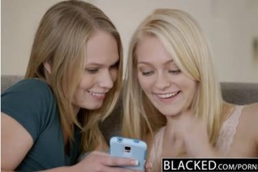 Interracial HD pornó - Alli Rae, Dakota James