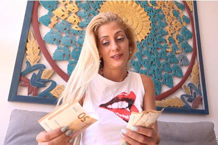 Gabriela Flores - casting szex készpénzért