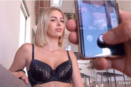 Casting HD pornó - Lya Missy